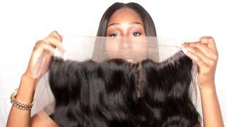 getlinkyoutube.com-Aliexpress Indian Body Wave + Lace Frontal- Virgo Hair