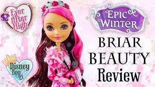 getlinkyoutube.com-Ever After High - Epic Winter Briar Beauty Doll Review & Unboxing