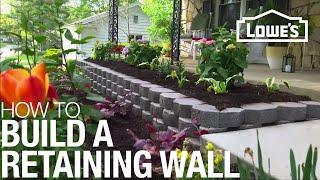 getlinkyoutube.com-How To Build a Retaining Wall