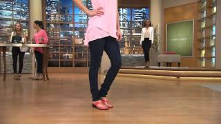 getlinkyoutube.com-Marc Fisher Thong Sandals w/ Hardware Accent - Alining with Gabrielle Kerr