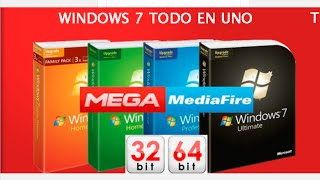 getlinkyoutube.com-Windows 7 SP1 Full x86 32-bit x64 64-bit Español Actualizado Diciembre 2016 1 Link Mega MediaFire