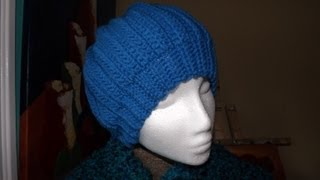 getlinkyoutube.com-Crochet gorro para adulto - con Ruby Stedman