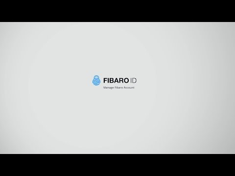 FIBARO ID - Manage Fibaro Account