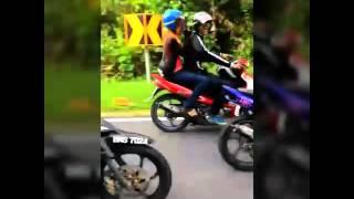 getlinkyoutube.com-Pelesit Kota Motor Club, Konvoi CNY 2016
