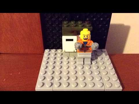 lego stop motion cash withdrawal