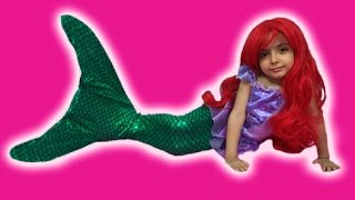 Disney Frozen Elsa MERMAID Videos In Real Life + Swimming Tail +Ariel Mermaid + TREASURE HUNT + Toys