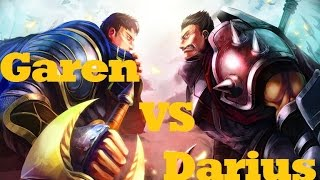 getlinkyoutube.com-Garen VS Darius (how to beat Darius): League of Legends guide