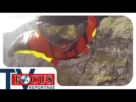 Base-Jumping und seine Risiken | Der Kick um jeden Preis - Focus TV Reportage
