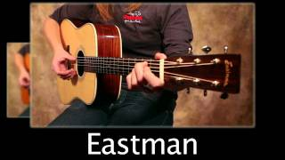 getlinkyoutube.com-1961 Martin D-28 Vs Eastman E20D Acoustic Guitar Comparison Video