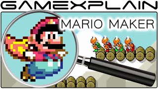 getlinkyoutube.com-Mario Maker Analysis - Nintendo Direct Trailer (Secrets & Hidden Details)