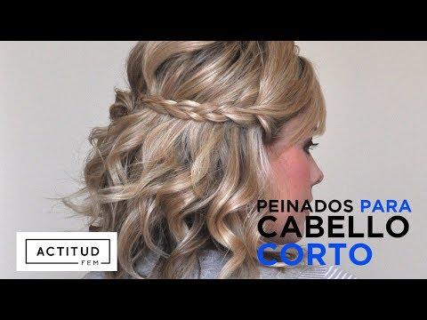 Peinados Fáciles para cabello corto   ActitudFEM