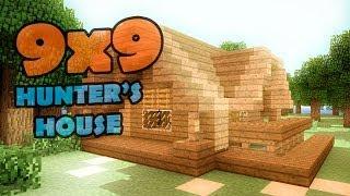 getlinkyoutube.com-Minecraft 9x9 house - дом охотника.