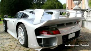 getlinkyoutube.com-Porsche 911 GT1 Straßenversion - 1 of 25 world wide!!