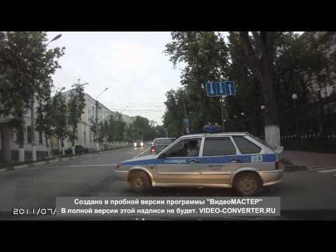 Полиция встречка Калуга