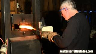 getlinkyoutube.com-How to Make Damascus Steel -- Part 1