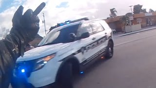 getlinkyoutube.com-Motorcycle Police Chases Compilation #13 - January 2017 - FNF