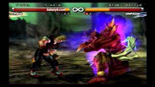TEKKEN 5 | ULTRA HARD | STORY BATTLE | BABARYK VS JINPACHI