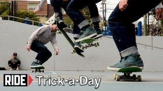 getlinkyoutube.com-How-To Skateboarding: Nollie Backside 180 With Brian Downey
