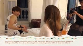 getlinkyoutube.com-Hậu trường MV  Buông Tay 2 cực vui nhộn, Khởi My, Kelvin Kh