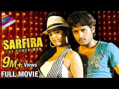 Sarfira The Power Man Hindi Full Movie | Nitin | Priyamani | Drona Telugu | Telugu Filmnagar