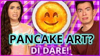 DIY PANCAKE ART?! Di-Dare w/ Motoki Maxted & Cassie Diamond