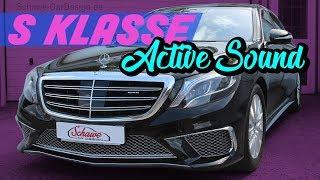 getlinkyoutube.com-Mercedes Benz S Klasse V8 Sound Diesel Active Sound