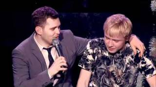 getlinkyoutube.com-Michael Buble duets with 15 year old boy on 'This is Michael Buble' - HD
