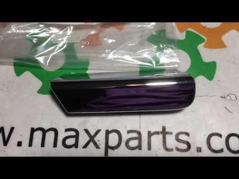 Оригинал накладка решетки радиатора хром Lexus RX