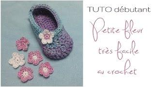 getlinkyoutube.com-TUTO débutant : Petite fleur au crochet très facile à réaliser