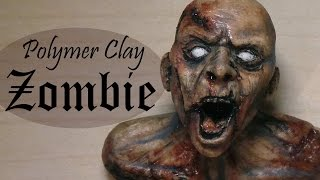 getlinkyoutube.com-Polymer Clay Zombie Tutorial/Timelapse