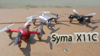 getlinkyoutube.com-Syma X11C Mini Quadcopter w/ HD camera Flight Review