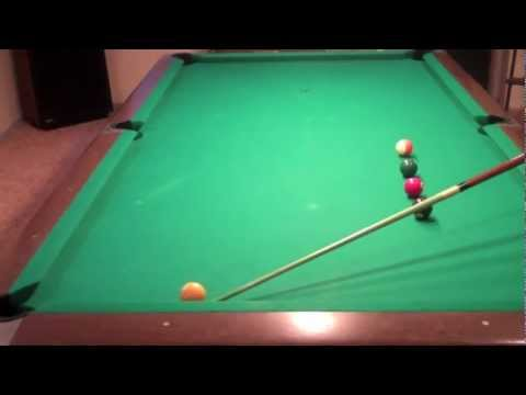 Billiard Lessons - Practice Shots for Pocketing Balls