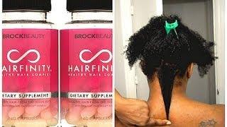 getlinkyoutube.com-Hairfinity | Hair Growth Results  | 1 Month Update