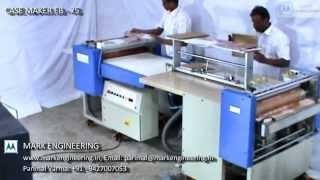 getlinkyoutube.com-CASE MAKING MACHINE | CASE MAKING | HARD BINDING MACHINE | CASE BINDING