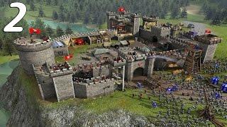 getlinkyoutube.com-Симулятор разрушителя замков! Stronghold Crusader 2