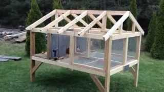 getlinkyoutube.com-Canadian rabbit hutch - PART ONE