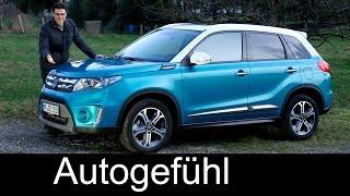 getlinkyoutube.com-Suzuki Vitara FULL REVIEW test driven all-new neuer 2016 Comfort+ AWD - Autogefühl