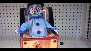 getlinkyoutube.com-Tekky Toys Creepy Clown Box