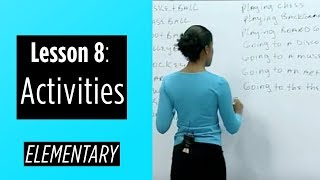getlinkyoutube.com-Elementary Levels - Lesson 8: Activities