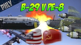 getlinkyoutube.com-PE-8 RUSSIAN DEATH STAR VS B-29 FREEDOM! War Thunder Epic Battle!