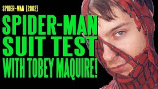 getlinkyoutube.com-Spider-Man Suit Test with Tobey Maguire