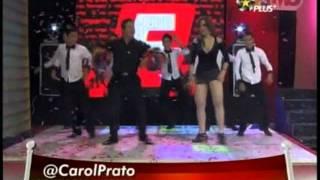 getlinkyoutube.com-Carolina Prato bailando en minifalda... mas plus