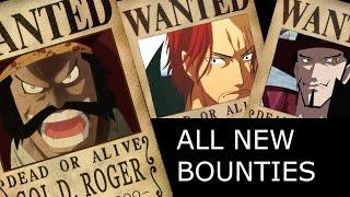 getlinkyoutube.com-One Piece - New Bounties - Neue Kopfgelder Chapter 801+
