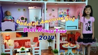 getlinkyoutube.com-Huge American Girl Doll House  Tour 2014 !