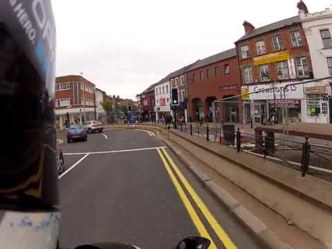 Ride on the GSXR with the Go Pro