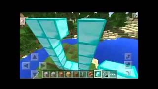 getlinkyoutube.com-Minecraft pe เมืองเพรชมีจริงๆ!