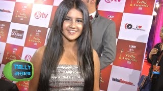 getlinkyoutube.com-Roshni Walia All Excited For Her Movie   Indian Telly Awards 2015