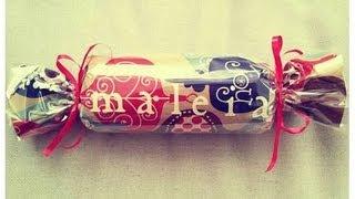 getlinkyoutube.com-DIY: How To Gift Wrap A T-shirt Like Candy