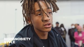 getlinkyoutube.com-Jaden Smith Gives Us an Exclusive Tour of the MSFTSRep Pop-Up Shop at V-Files