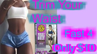 getlinkyoutube.com-TRIM YOUR WAIST FAST AND ONLY FOR $10!!!!!!!!